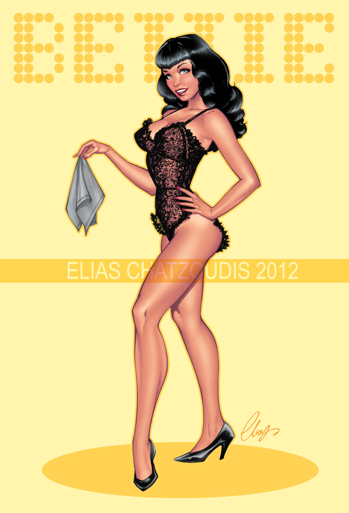 Bettie Page by Elias-Chatzoudis