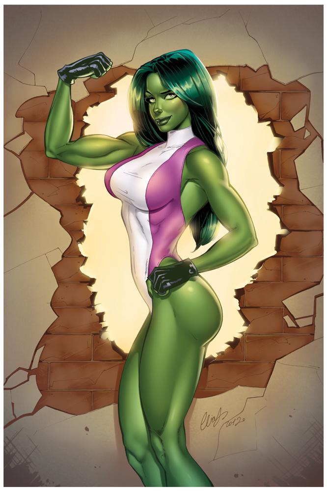 She-Hulk by Elias-Chatzoudis