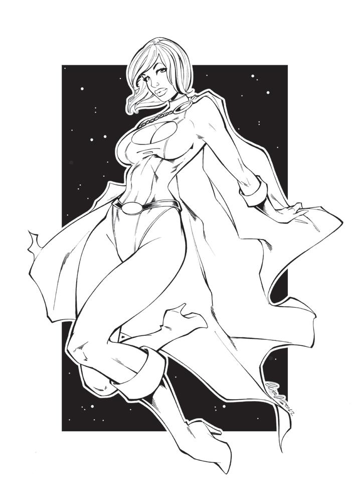 Power Girl by Elias-Chatzoudis