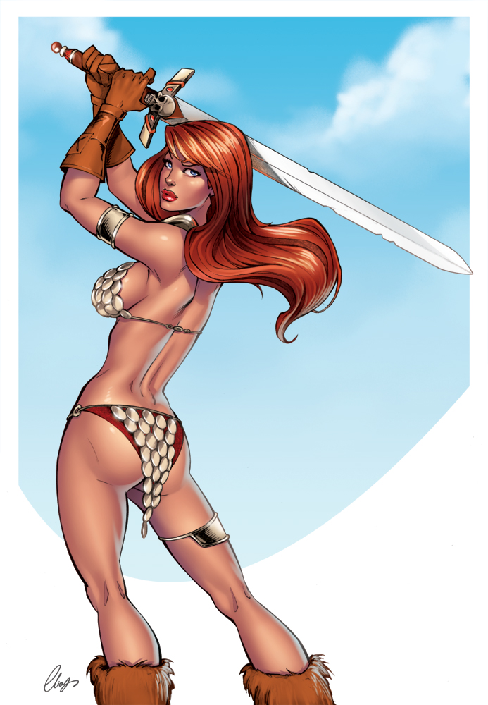 Red Sonja by Elias-Chatzoudis