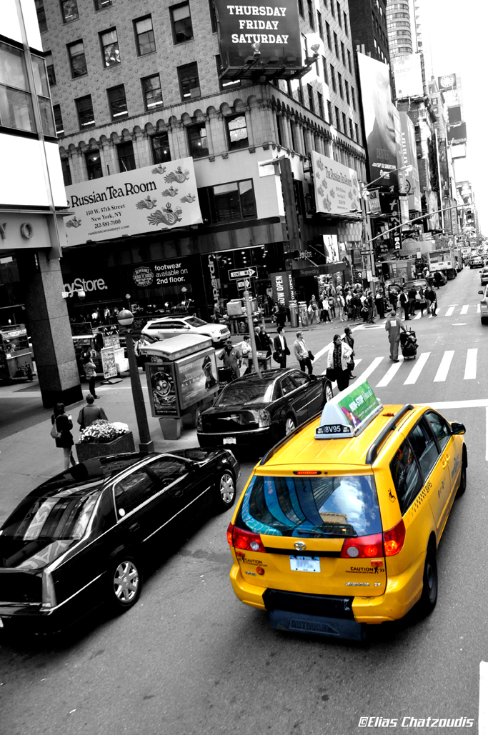 New York taxi by Elias-Chatzoudis