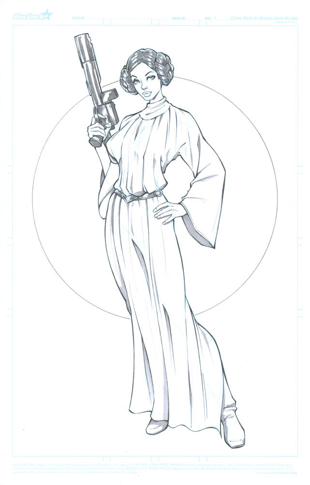 Princess Leia by Elias-Chatzoudis on DeviantArt