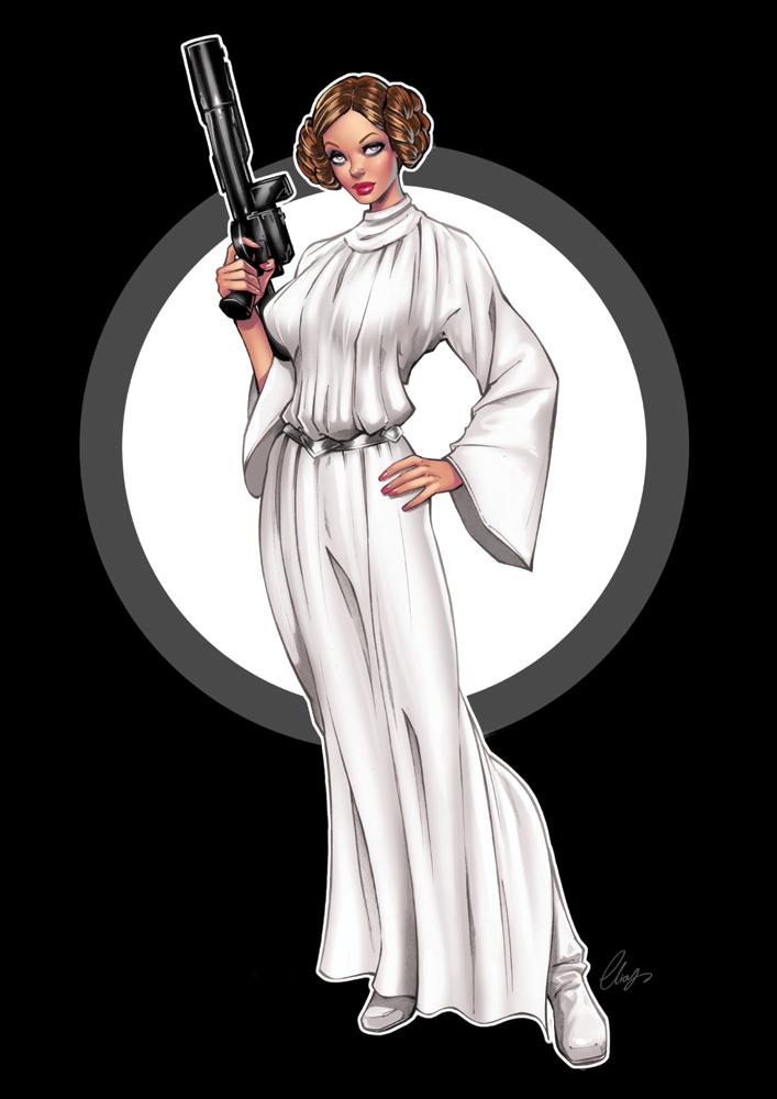Princess Leia by Elias-Chatzoudis