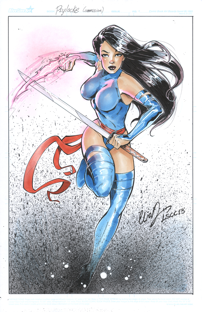 Psylocke LSCC 2013 by Elias-Chatzoudis