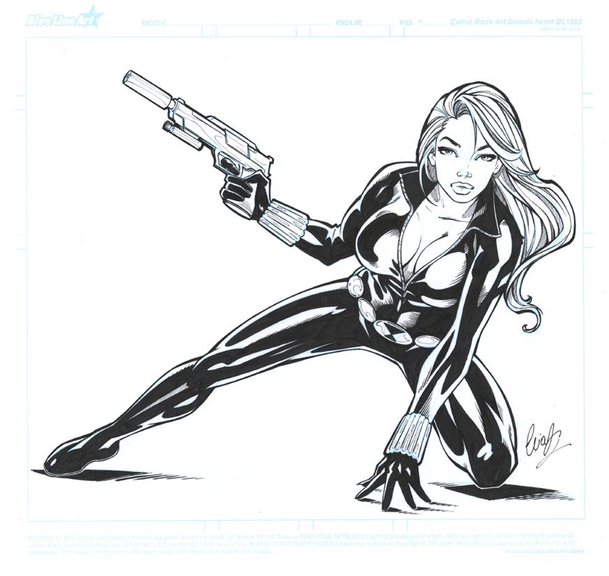 Black Widow by Elias-Chatzoudis