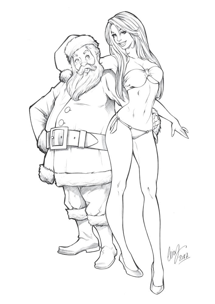 Santa's Girl by Elias-Chatzoudis