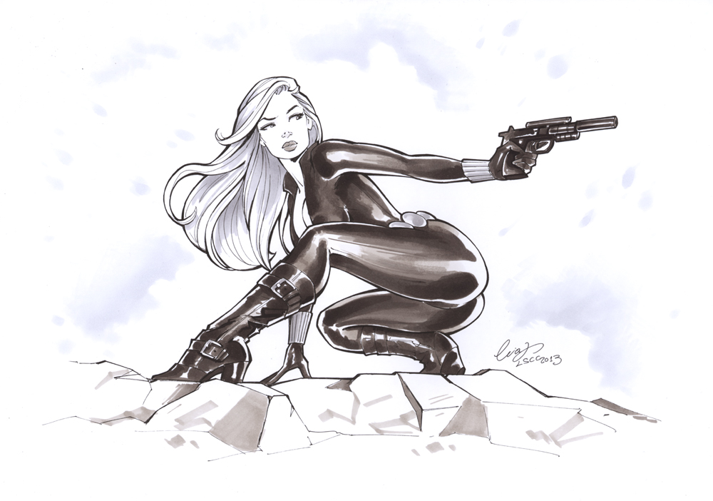 Black Widow LSCC 2013 by Elias-Chatzoudis