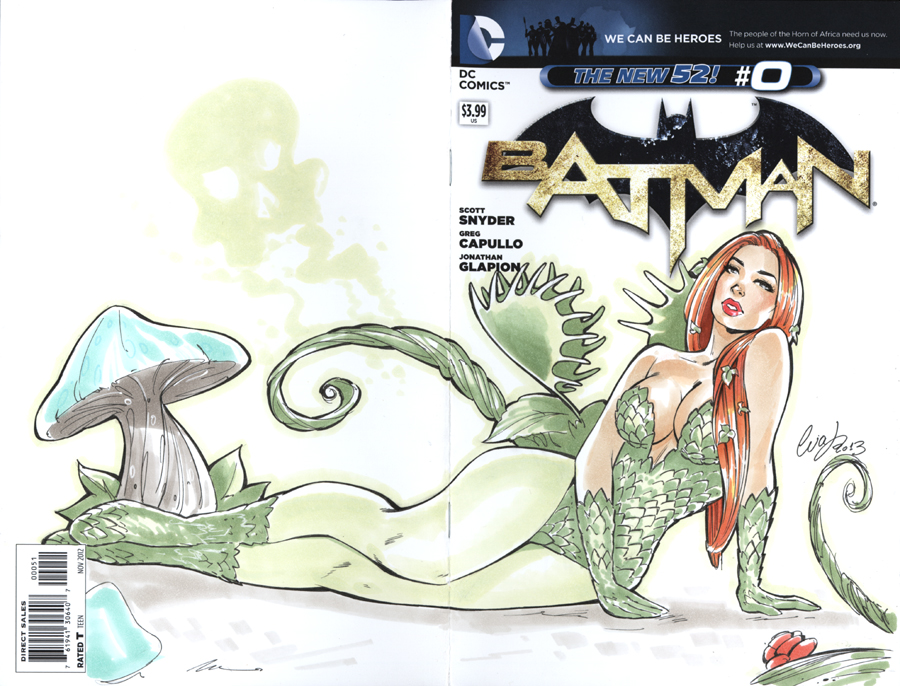 Poison Ivy blank cover by Elias-Chatzoudis