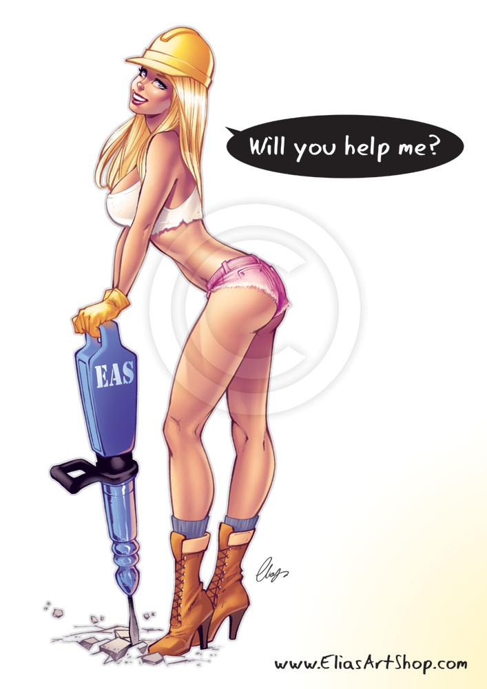 Секси иллюстрации греческого художника элиаса