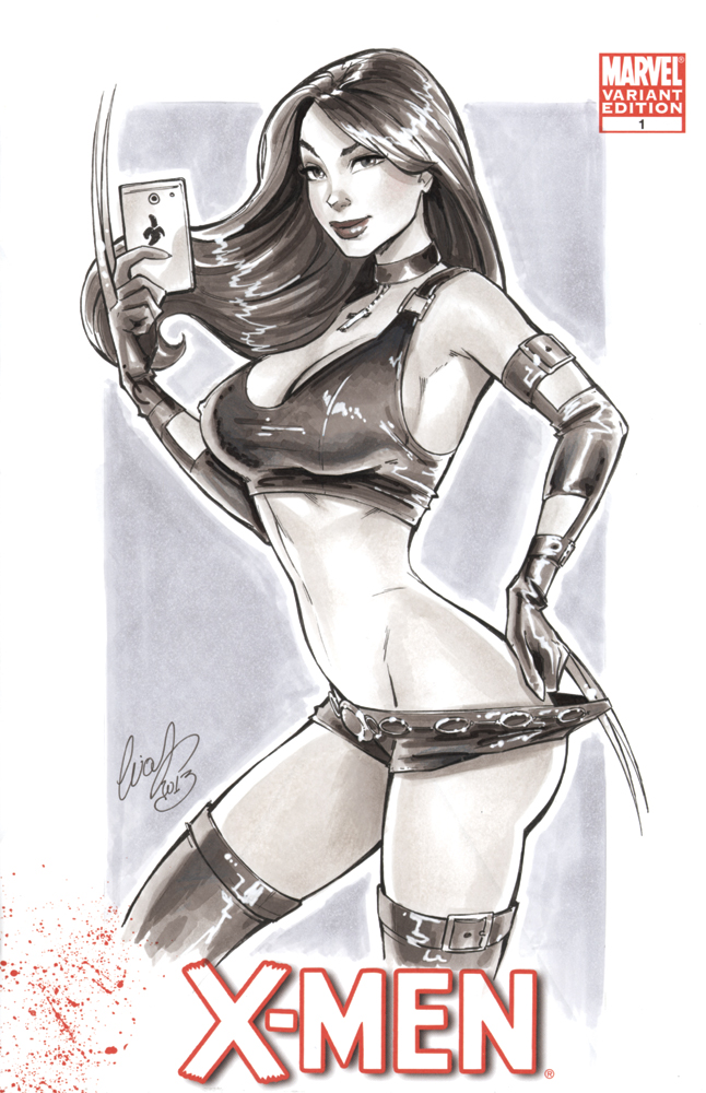 X23 commission SDCC by Elias-Chatzoudis