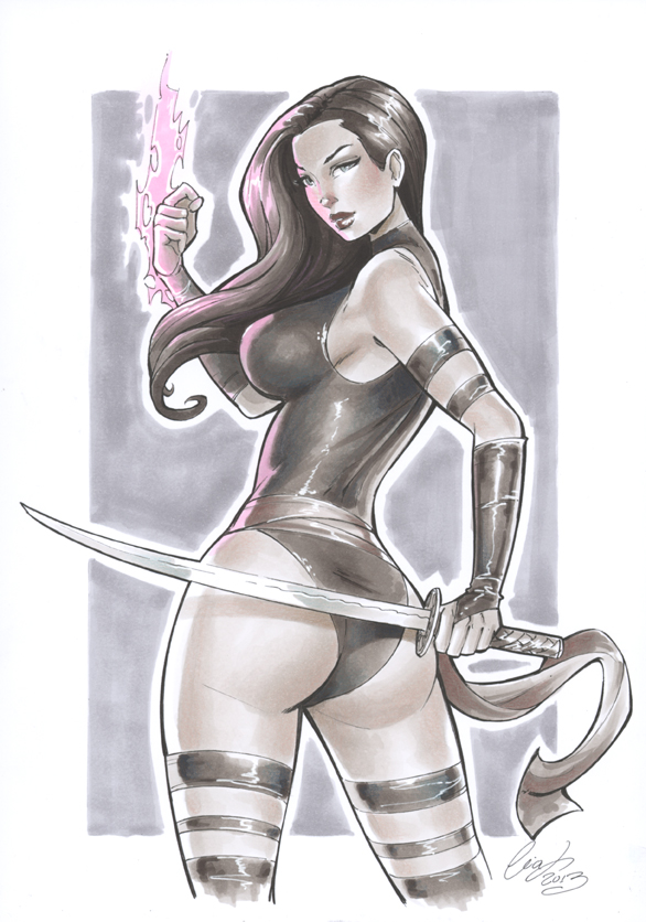 Psylocke SDCC 2013 by Elias-Chatzoudis