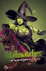 Hallowitches front cover by Elias-Chatzoudis