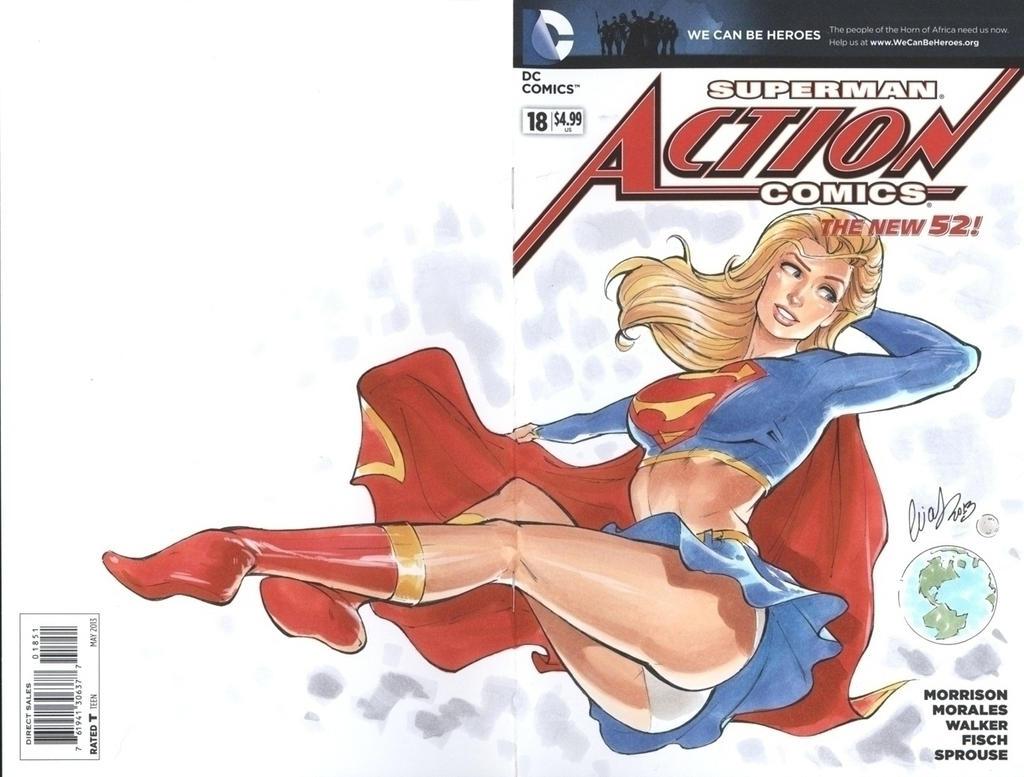 Supergirl NYCC by Elias-Chatzoudis