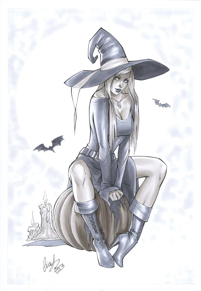 Little witch by Elias-Chatzoudis
