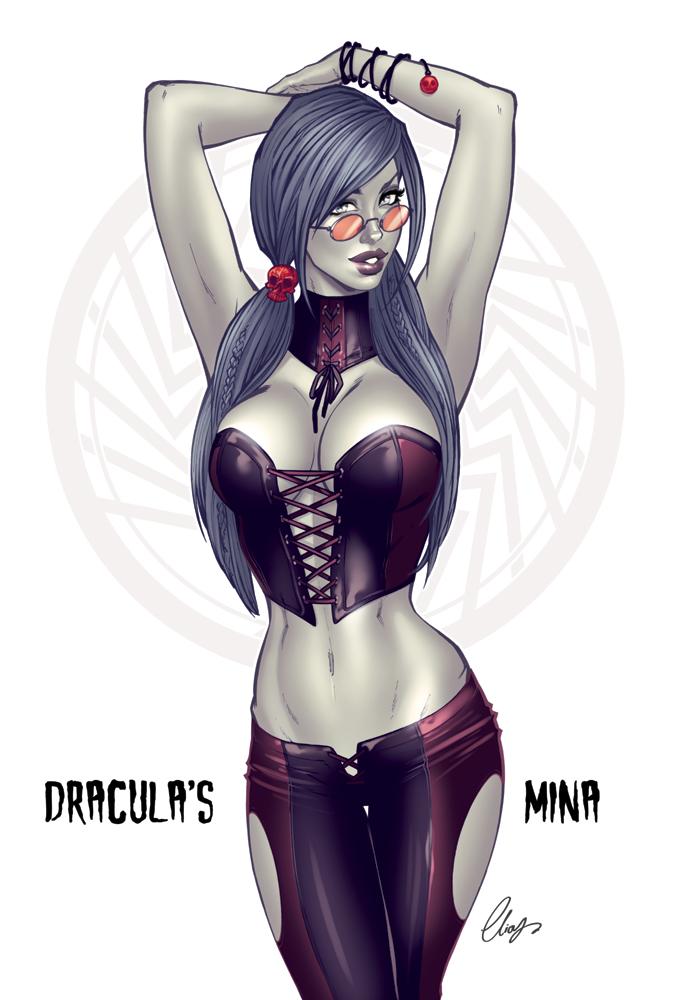 Vampire Mina by Elias-Chatzoudis