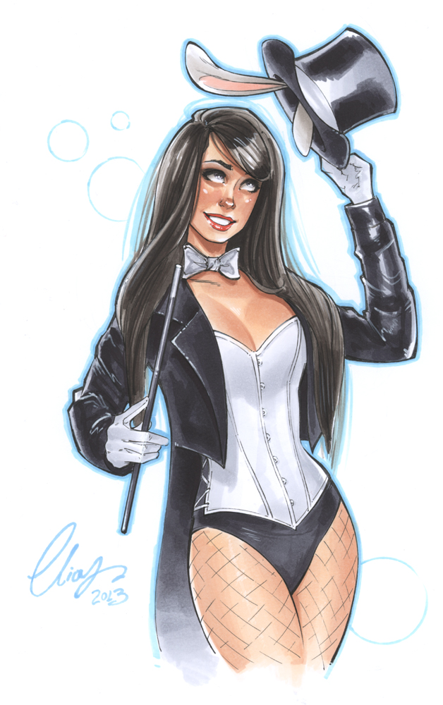 Zatanna by Elias-Chatzoudis