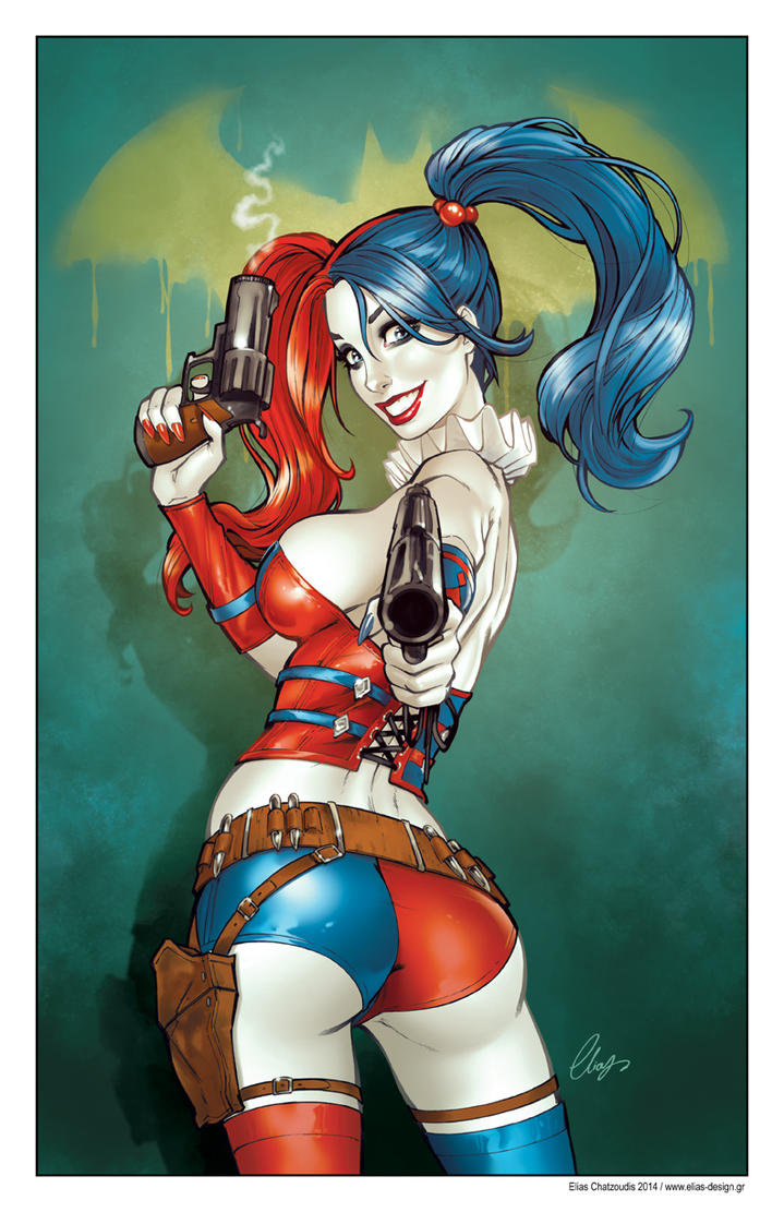 Harley Quinn 52 by Elias-Chatzoudis