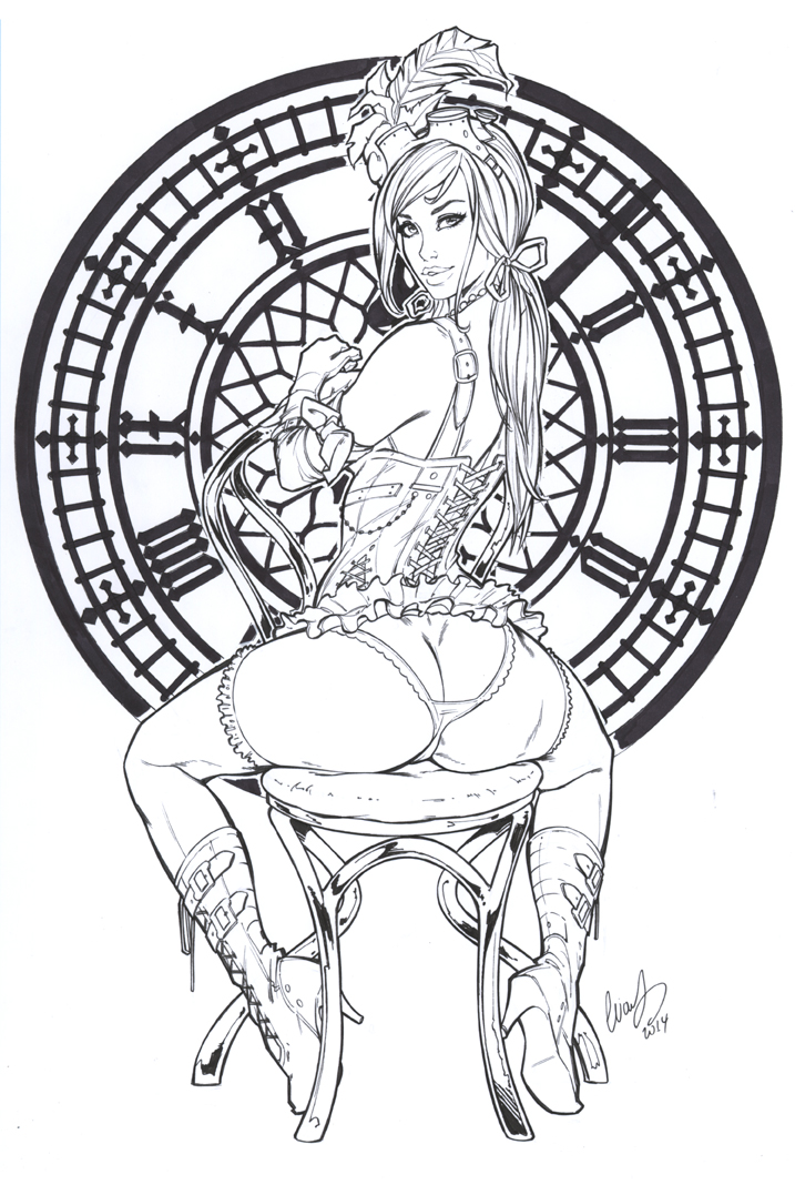 Dorothy SteampunkZenescope by Elias-Chatzoudis