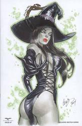 Wicked Witch OZ Zenescope by Elias-Chatzoudis