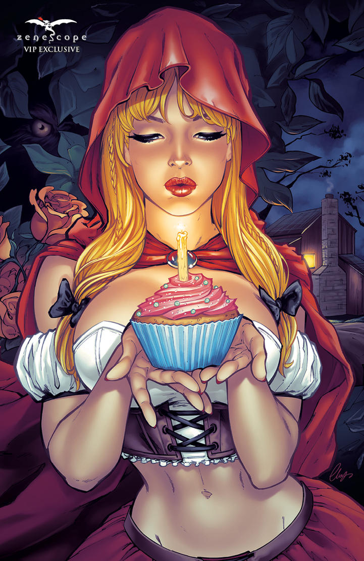 Red Riding Hood VIP Zenescope by Elias-Chatzoudis