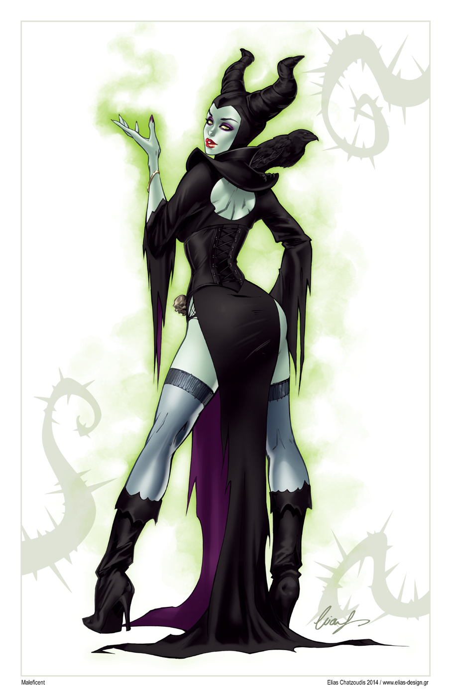 Maleficent by Elias-Chatzoudis