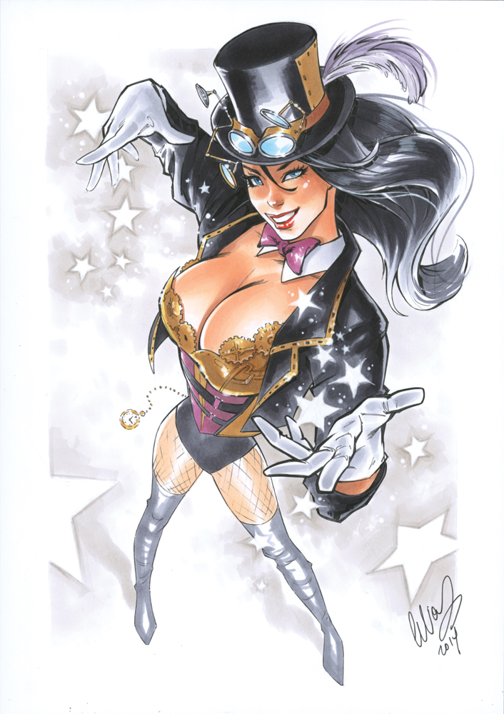 Zatanna Steampunk by Elias-Chatzoudis