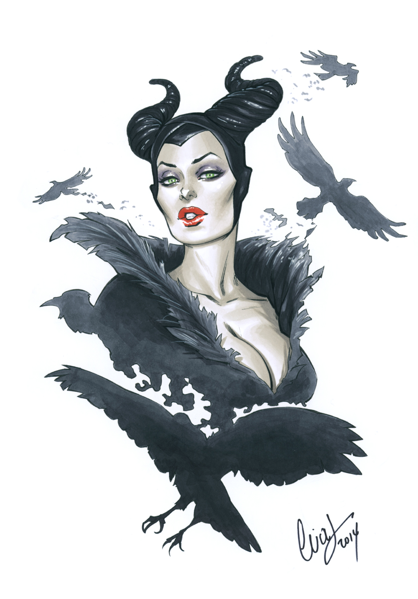 Maleficent by Elias-Chatzoudis