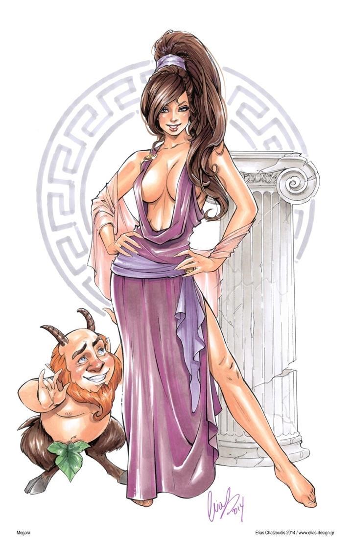 Afrodite - Cartoon Girl
