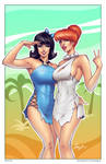 Betty and Wilma