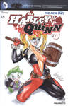 Harley Queen Blank cover