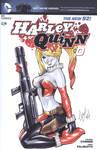 Harley Quinn blank cover #0