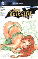 Poison Ivy Blank cover