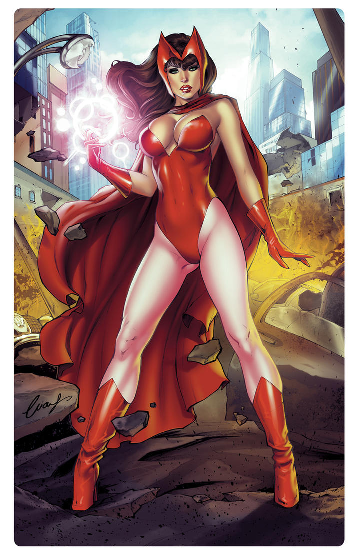 Scarlet Witch by Elias-Chatzoudis