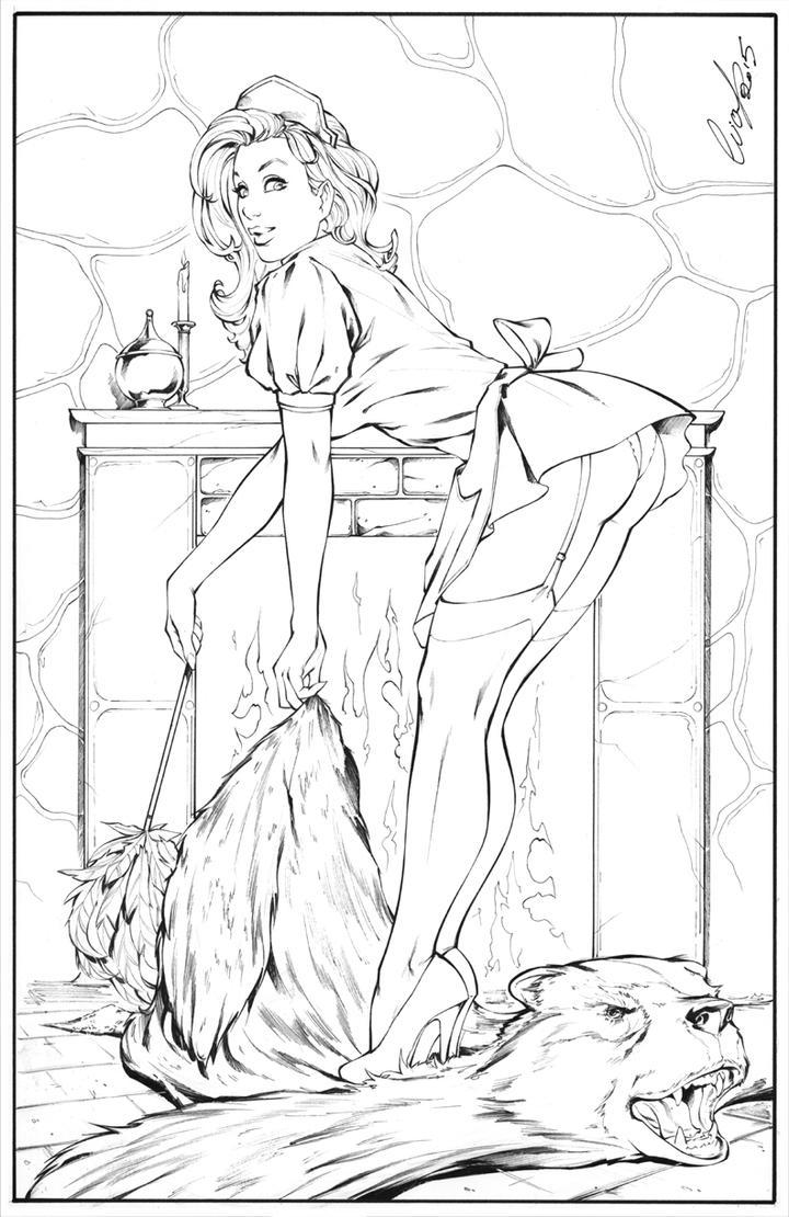 Sexy Maid by Elias-Chatzoudis