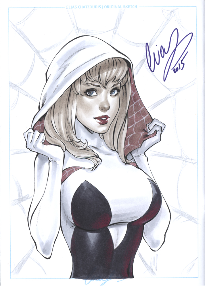 Spider Gwen by Elias-Chatzoudis