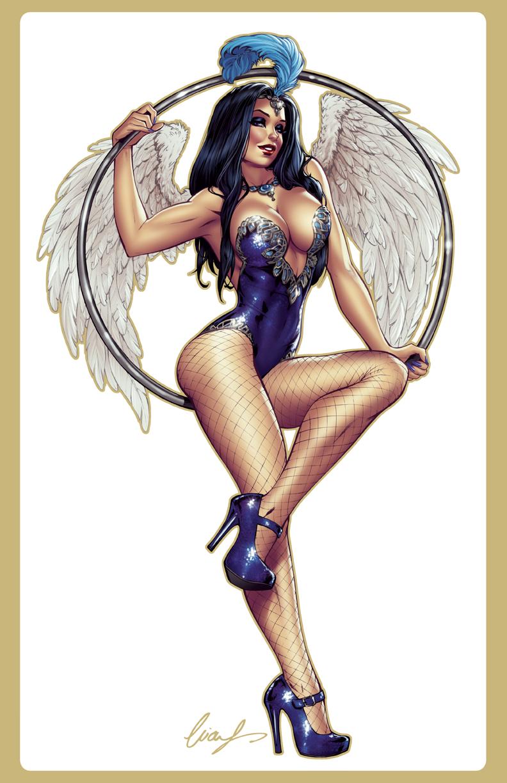 Angela Aerial Dancer by Elias-Chatzoudis