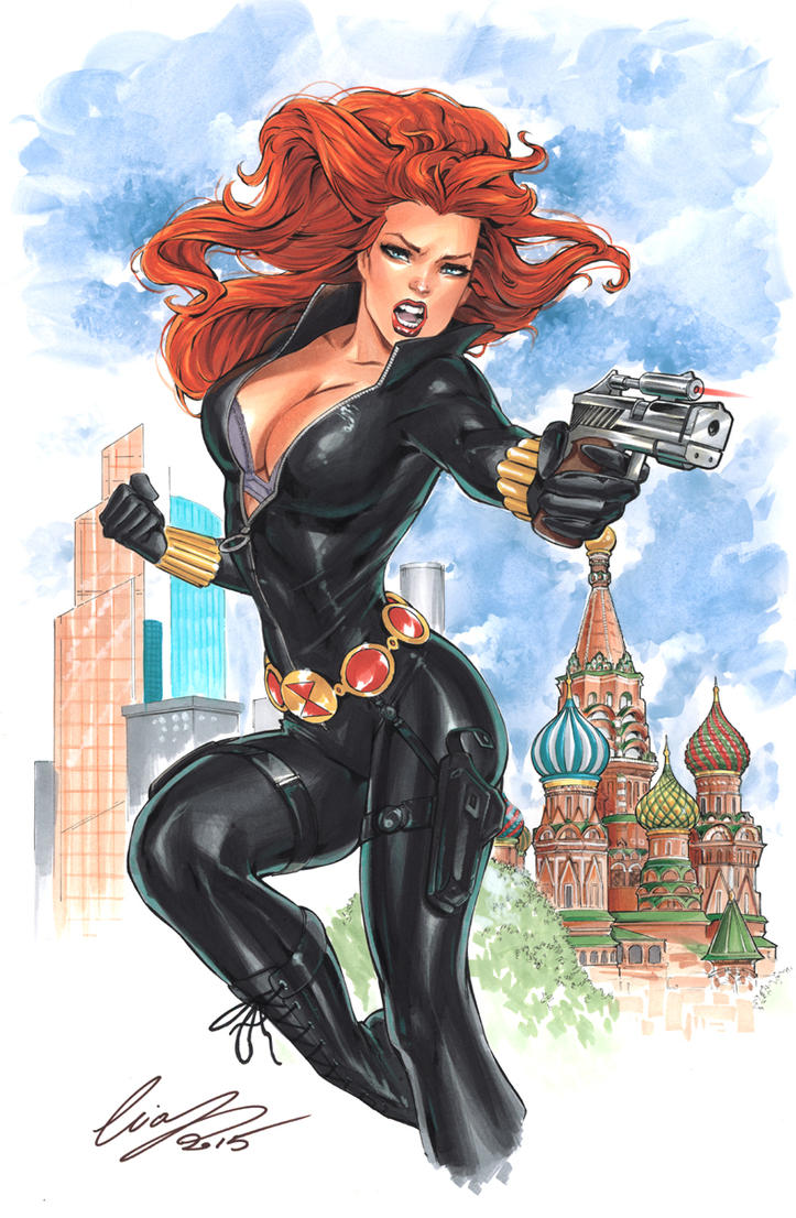 Black Widow by Elias-Chatzoudis