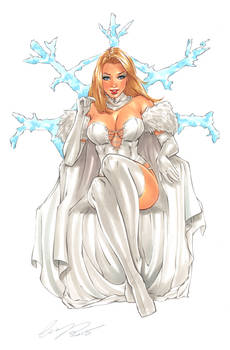 Emma Frost Original Art
