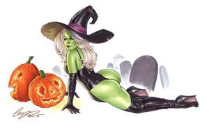 Miss Halloween by Elias-Chatzoudis