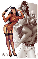 Bettie Page The Rocketeer
