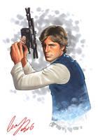 Han Solo by Elias-Chatzoudis