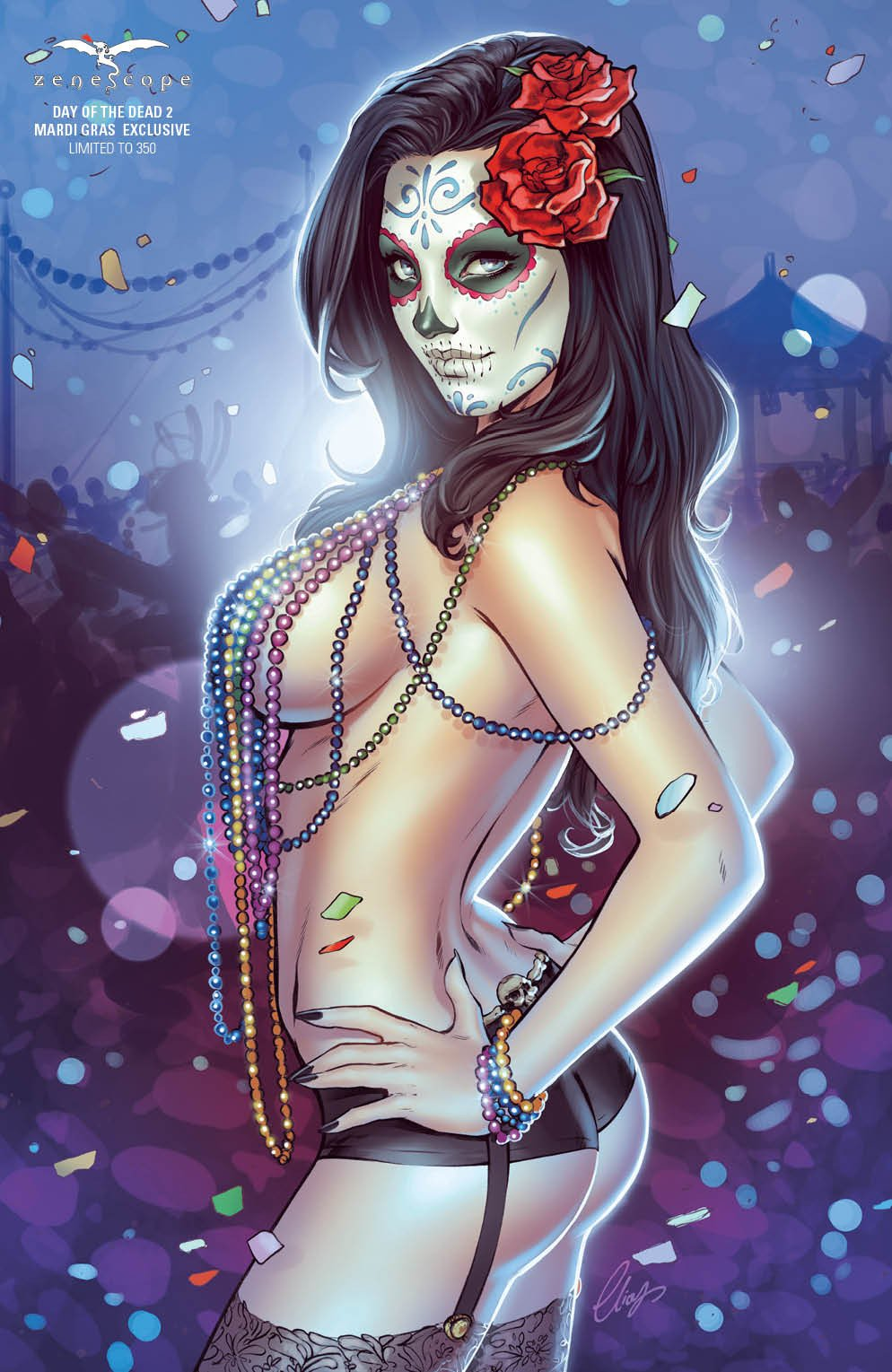 nude day of the dead girl