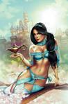 Jasmine Wondercon Exclusice cover
