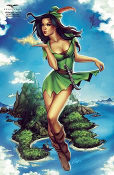 Skye as Peter Pan Female Version