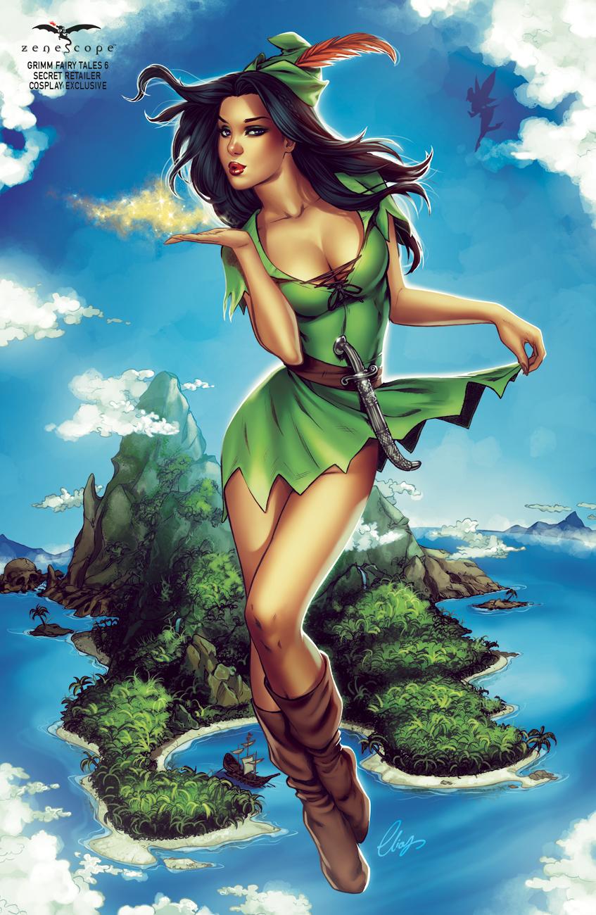 Skye as Peter Pan Female Version by Elias-Chatzoudis