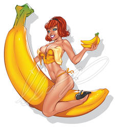 I love Bananas by Elias-Chatzoudis