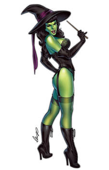 Bettie Wicked Witch