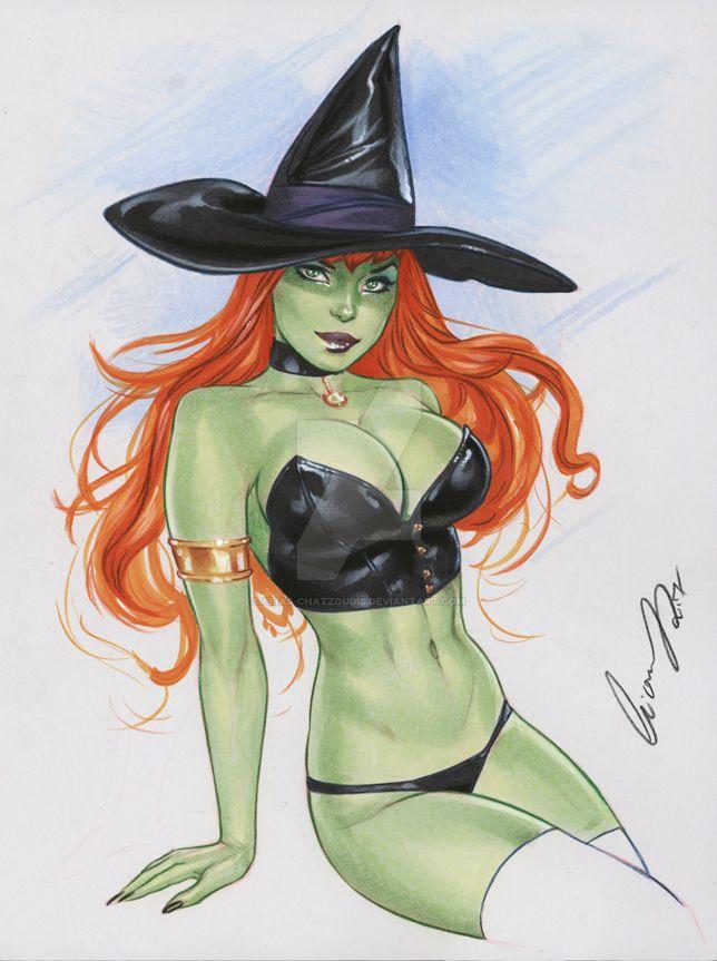 Halloween Witch by Elias-Chatzoudis