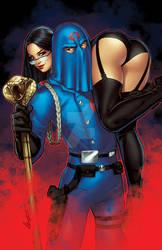 Baroness and Cobra Commander