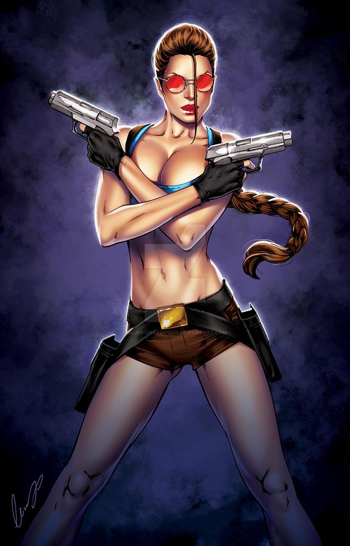 lara croft sexy